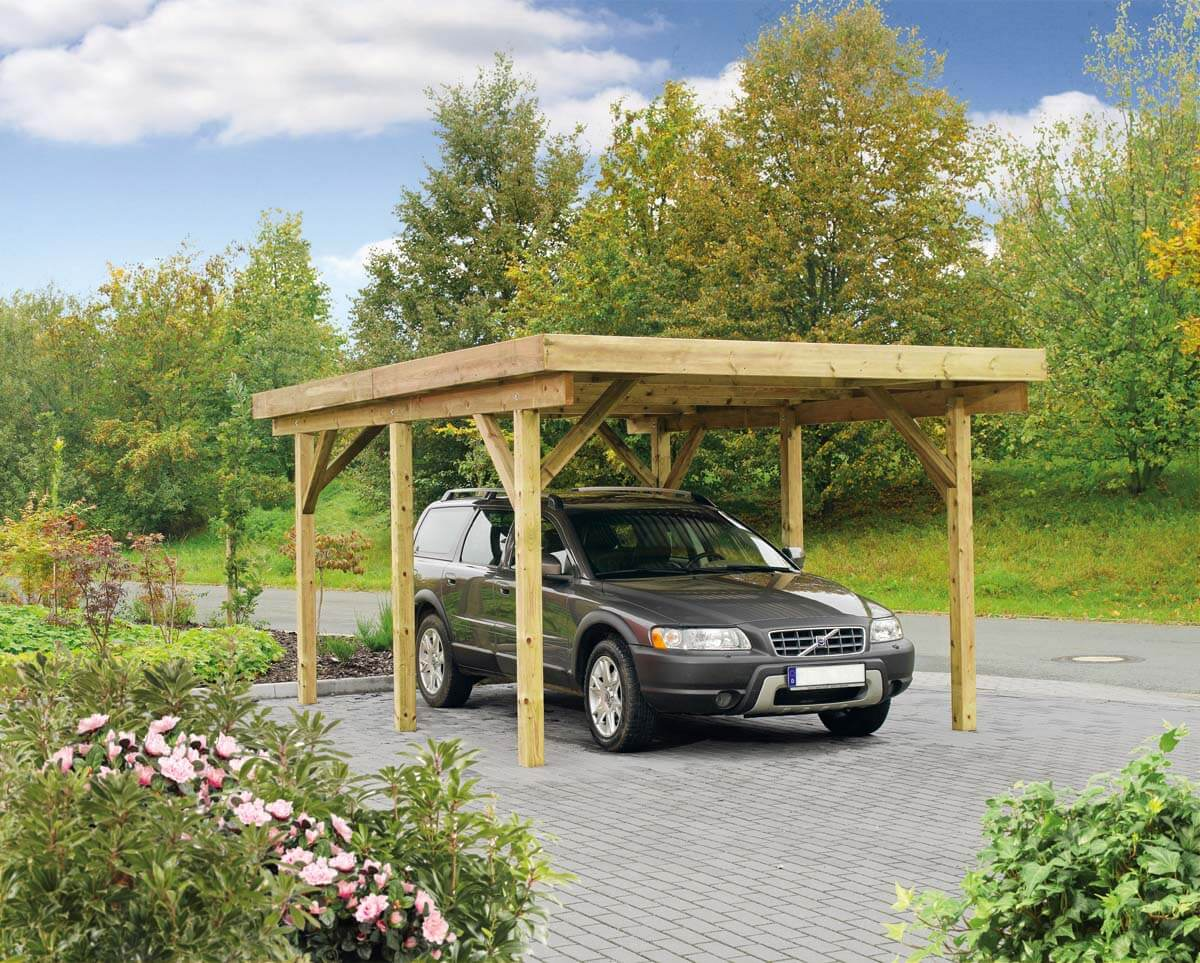carport bremen 1 mit aluminium dacheindeckung ca b 340xt 510 cm mr gardener bremerv rde. Black Bedroom Furniture Sets. Home Design Ideas